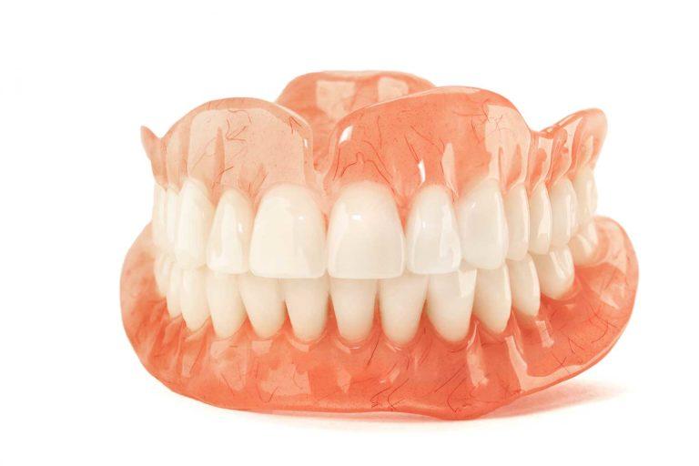 dentures on white background part 2